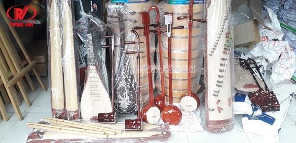 Cơ sở sản xuất nhạc cụ dân tộc