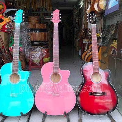 Đàn guitar màu 6 dây sắtdata-cloudzoom =
