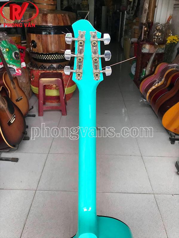 Đàn guitar màu 6 dây sắt