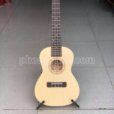 Đàn ukulele gỗ màu tự nhiên