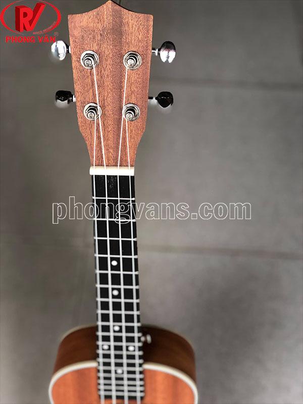 Đàn ukulele gỗ tự nhiên màu nâu