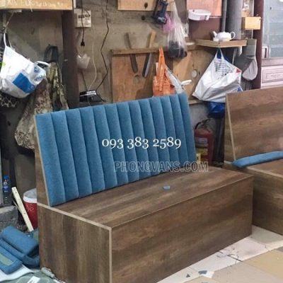 Đặt làm bàn ghế gỗ sofa cho quán