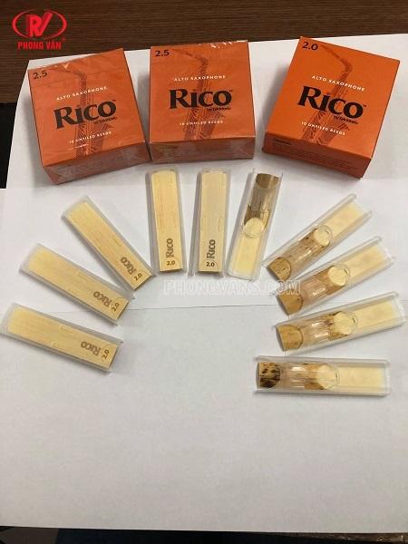 Hộp dăm kèn alto saxophone Rico 2.0 2.5