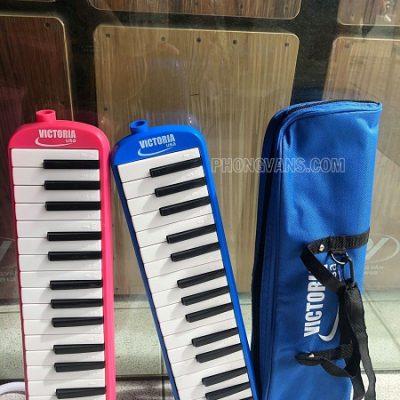 Kèn melodica Victoria màu xanh 32 nốt