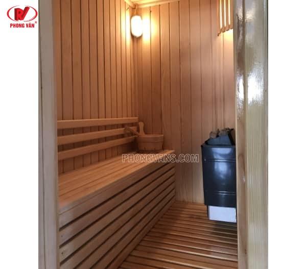 Nhận ốp gỗ thông phòng xông hơi spa tại Tphcm