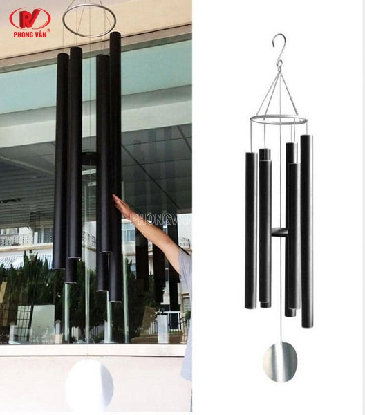 Order chuông gió nhập Mỹ 3 inch ống 7.6 cm treo sân vườn chùa