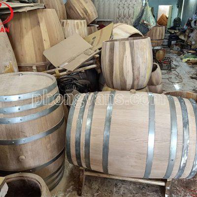 Thùng rượu gỗ sồi 300 lít