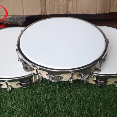 Trống tambourine gõ po gỗ