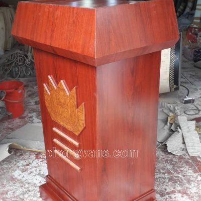 Bục để tượng Bác LTS04 bằng gỗ mdf