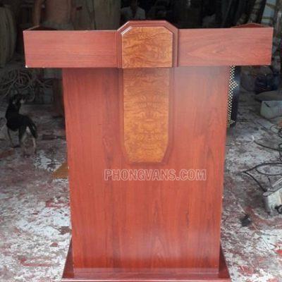 Bục phát biểu LT03 bằng gỗ