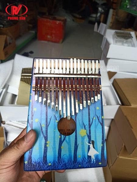 Đàn kalimba 17 phím hình đẹp