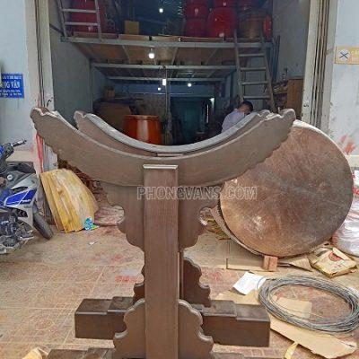 Giá đỡ trống chùa mặt 120 cm