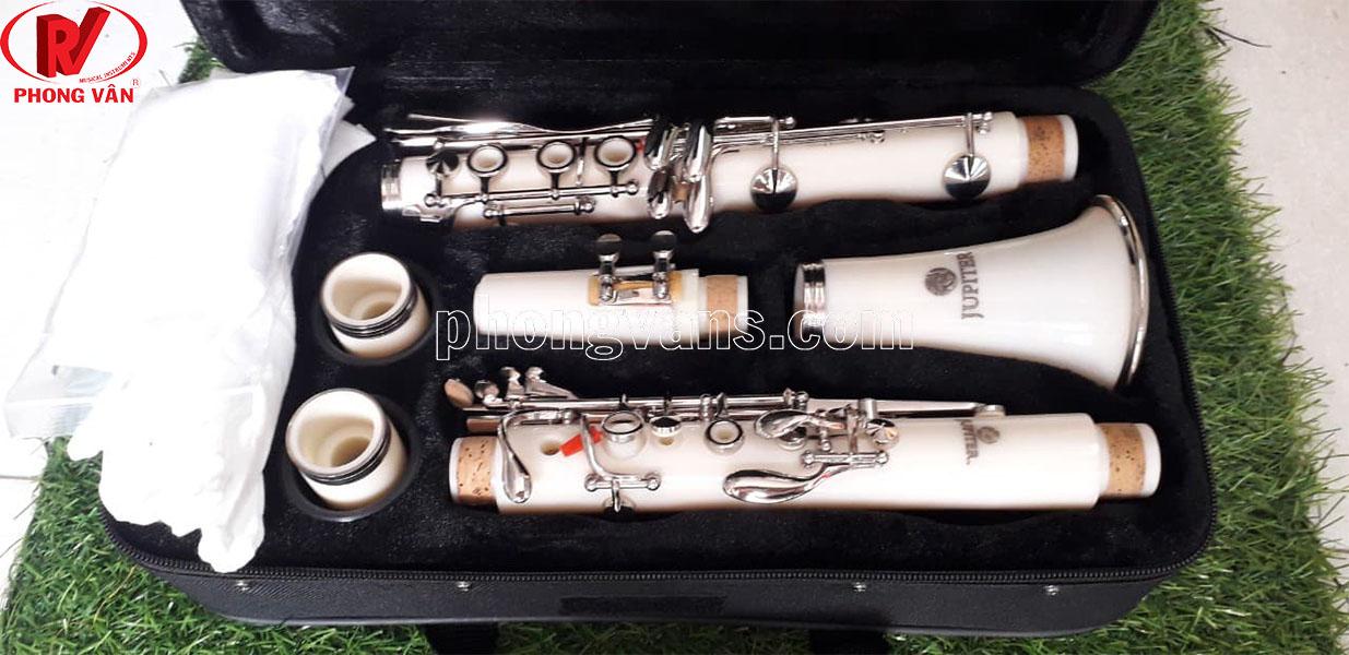 Kèn Clarinet hãng Jupiter JCL-700NQ màu trắng