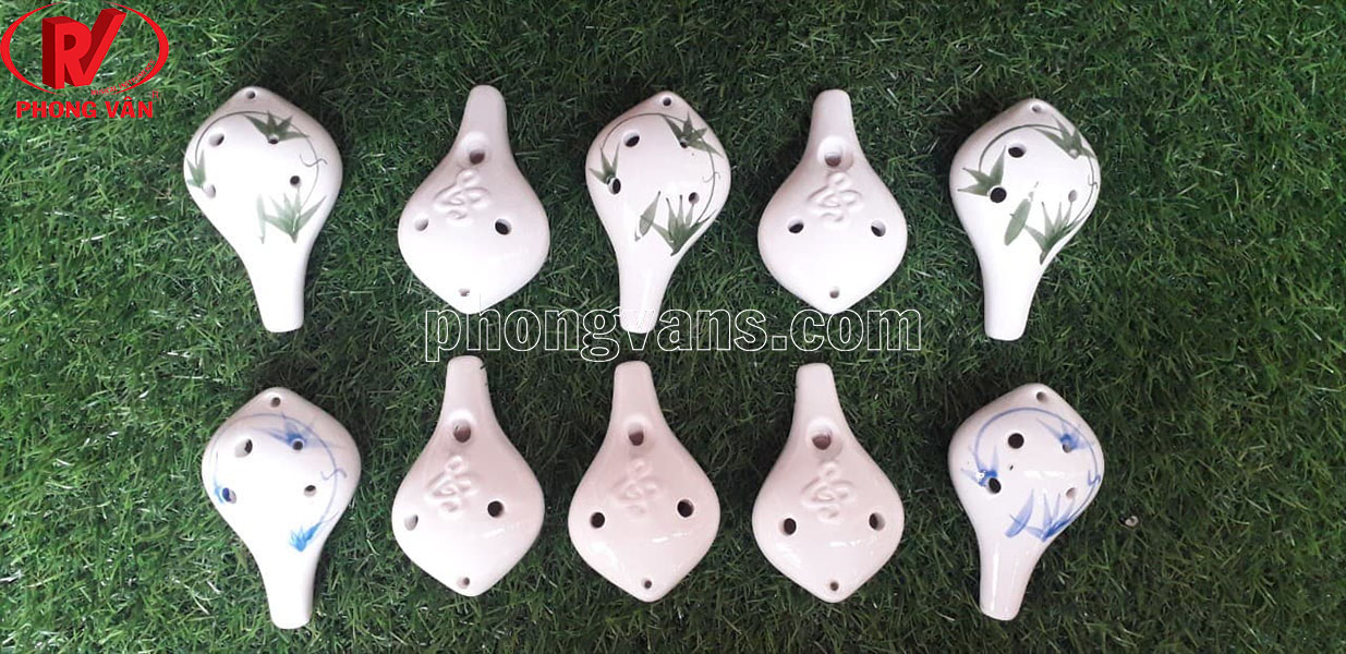 Sáo ocarina 6 lỗ bằng gốm