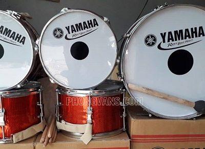 Trống đội Yamaha inox màu đỏdata-cloudzoom =