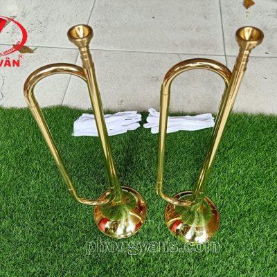 Kèn trumpet đồng không phím bấm