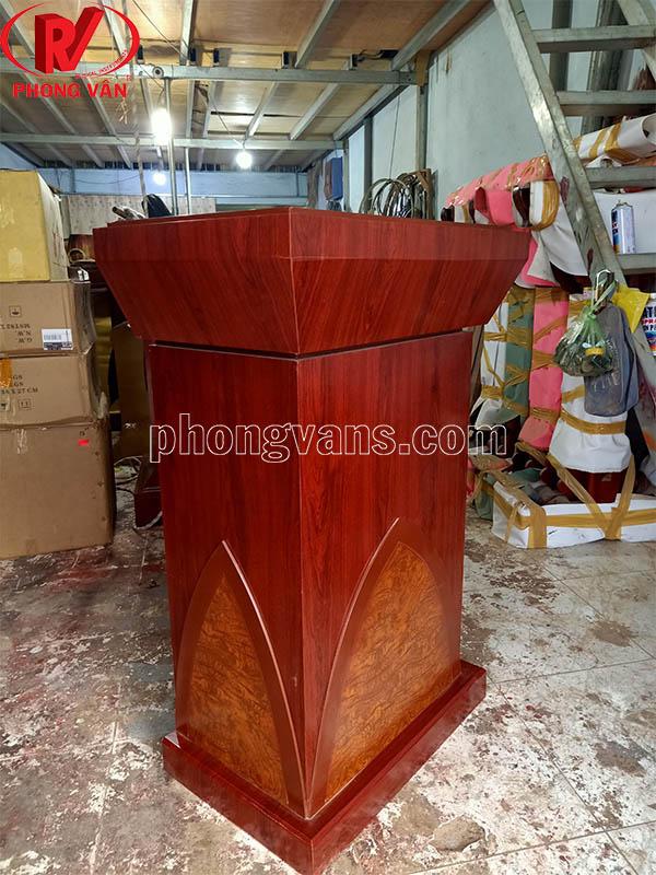 Bục gỗ để tượng Bác Hồ Lts03