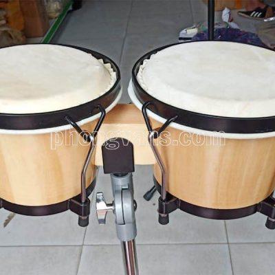 Cặp trống bongo Châu phi 6in 7in