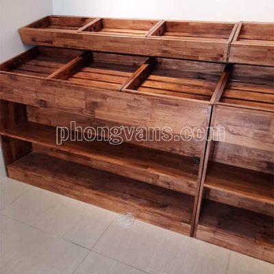 Cơ sở sản xuất kệ trưng bày trái cây gỗdata-cloudzoom =