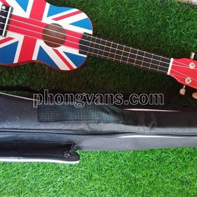 Đàn ukulele hình lá cờ Anh