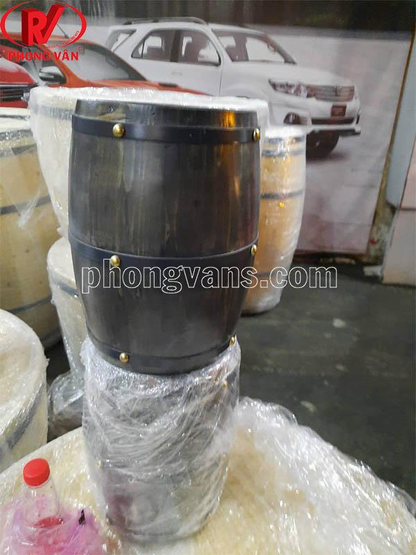 Đèn hầm rượu vang bằng thùng trống gỗ