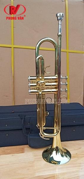 Kèn trumpet 3 màu loa vàng hãng Jupiter JTR500