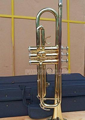 Kèn trumpet 3 màu loa vàng hãng Jupiter JTR500data-cloudzoom =