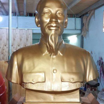 Tượng Bác Hồ composite cao 120 cm