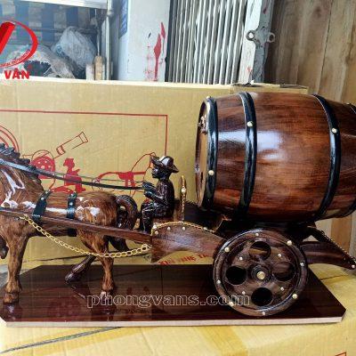 Bán sỉ xe ngựa kéo thùng rượu vangdata-cloudzoom =
