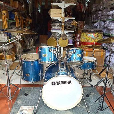 Bộ trống jazz Yamaha màu xanh cao cấpdata-cloudzoom =