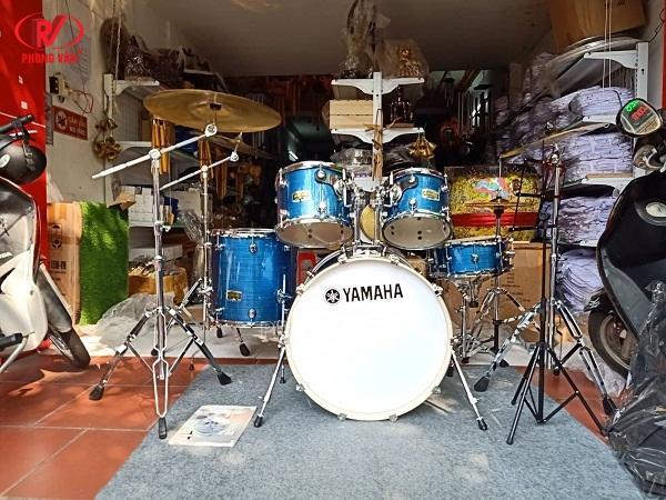 Bộ trống jazz Yamaha màu xanh cao cấp