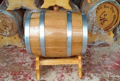 Thùng rượu gỗ sồi 10 lít