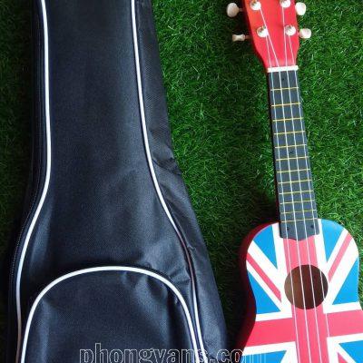 Bao vải đựng đàn ukulele có viền
