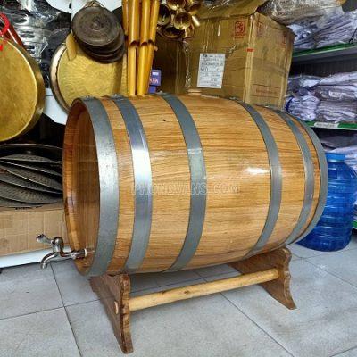 Thùng rượu gỗ sồi 100 lít