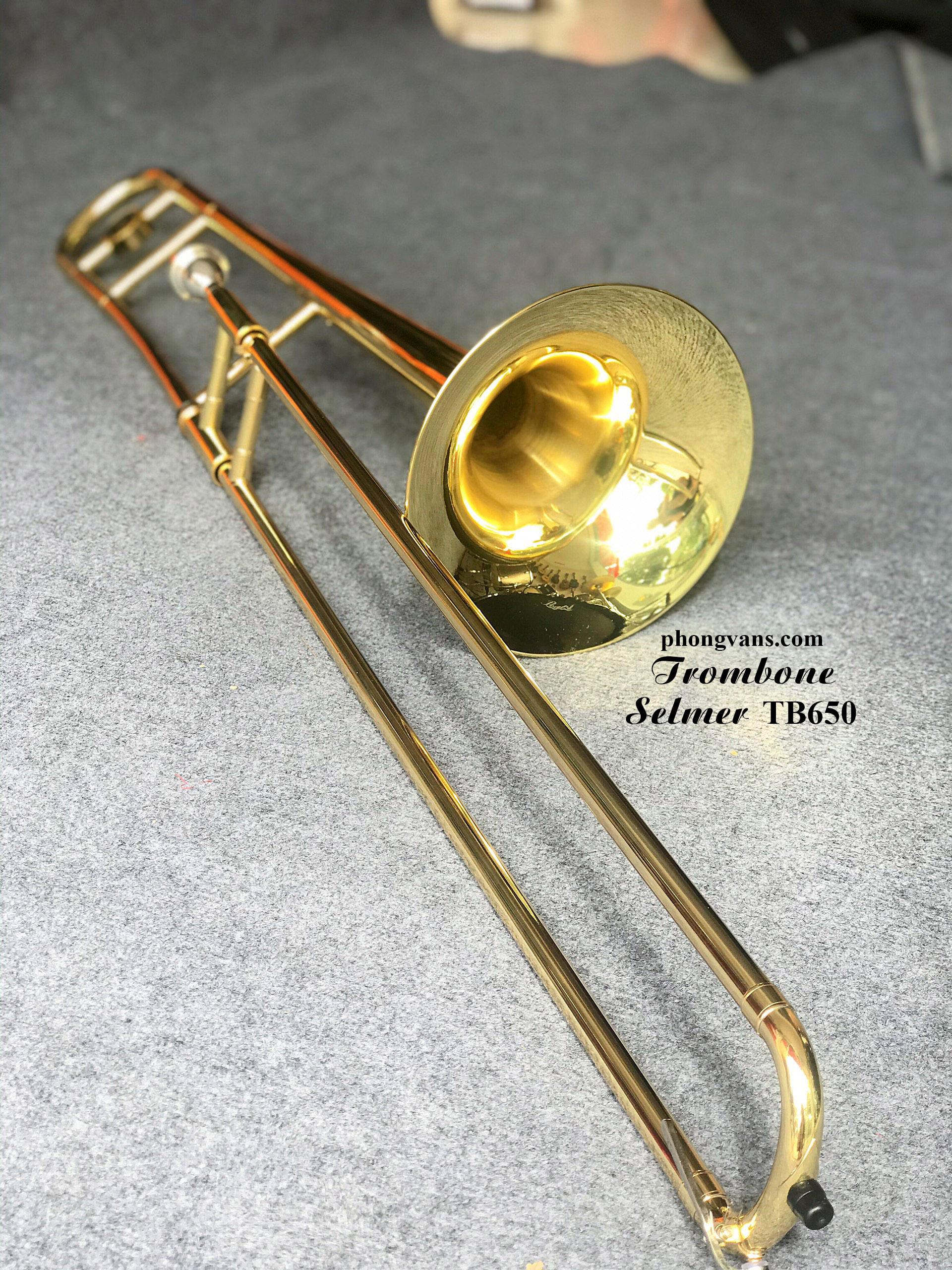 Kèn trombone hãng Selmer