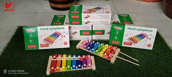 Bán sỉ đàn xylophone 8 thanh kim loại giá rẻ