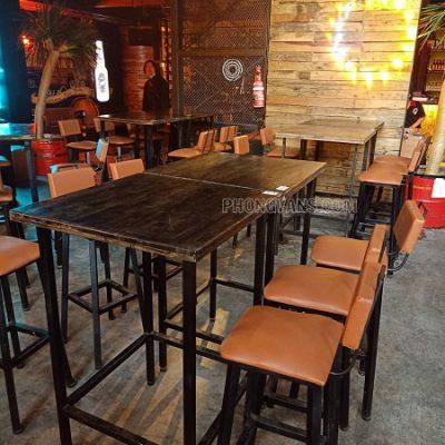 Bộ bàn ghế quán bar club