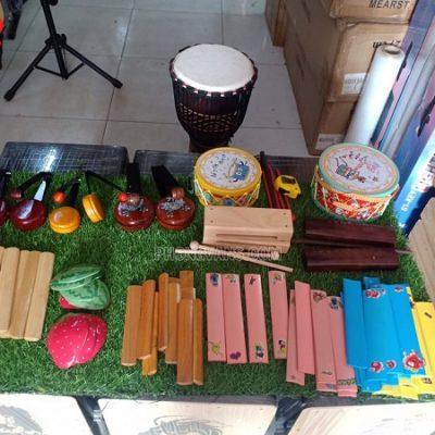 Các nhạc cụ cho trẻ em mầm non tiểu học