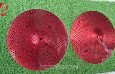 Lá Cymbal lỗ 14 inch màu đỏ