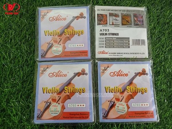 Dây đàn violin strings Alice A703