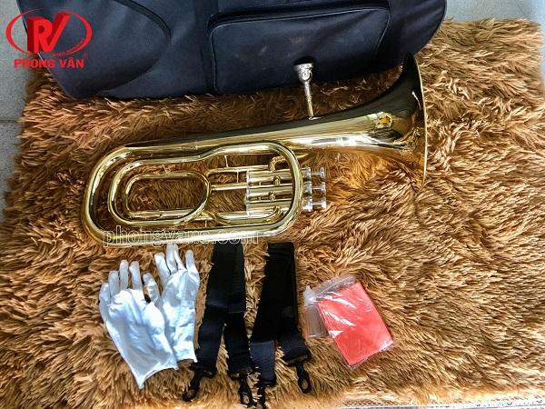 Kèn baritone vàng Selmer BS650