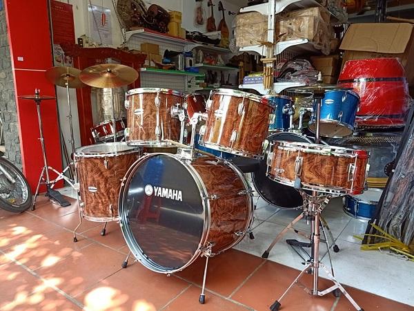 Trống jazz Yamaha màu đặc biệt