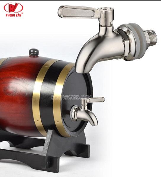 Vòi rót rượu bia inox 304