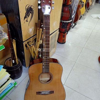 Đàn guitar gỗ giá rẻ thùng vuông lớn
