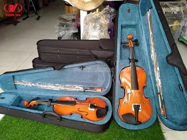 Đàn violin gỗ size 3/4