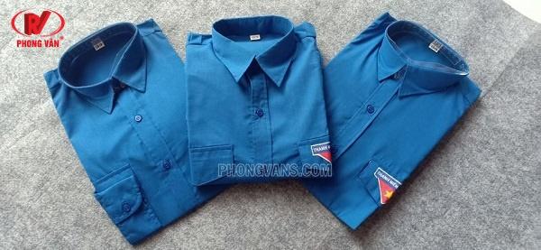 Bán sỉ áo đoàn thanh niên màu xanh
