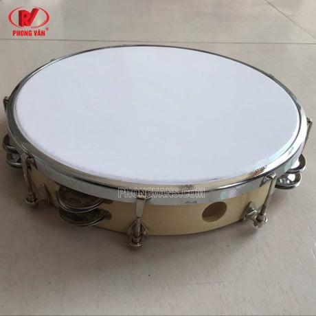 Bán sỉ trống tambourine lục lạc 8in 20cm mặt mica