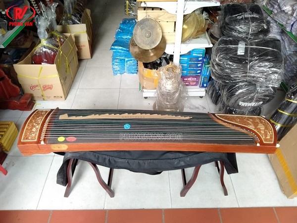 Đàn tranh Trung Quốc 21 dây trạm đẹp giá rẻ