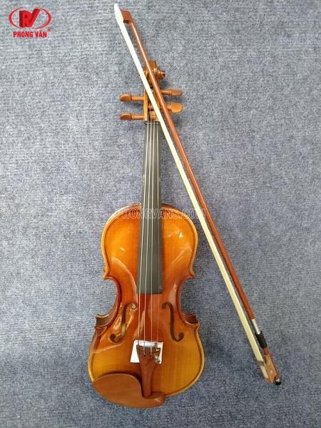 Đàn Violin vân gỗ size 1/2