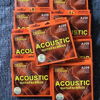 Dây acoustic guitar strings Alice A208